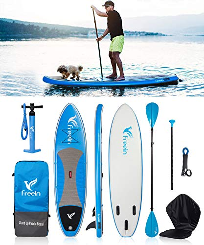 Freein Cruise SUP Board Set | Opblaasbaar Stand Up Paddle Board | 6