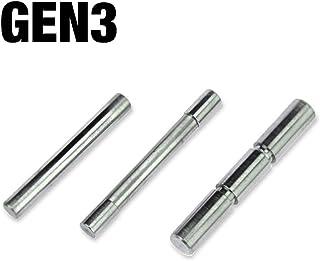 BlackLux Stainless Steel Replacement Pins. Gen 3 & Gen 4. Fits G 17 19 20 21 22 23 26 27 34 35 37 38