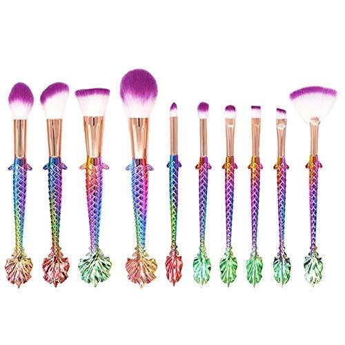 Chytaii. Pinceaux de Maquillage Sets Pinceaux Cosmétique Pinceaux pour le Visage Professionnels Maquillage Brosse Cosmétique Pinceaux de Maquillage Professionnels