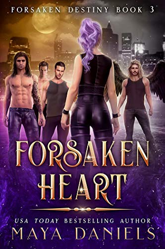 Forsaken Heart : A Paranormal Reverse Harem Romance (Forsaken Destiny Book 3) (English Edition)
