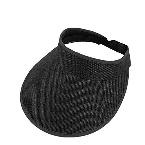 Amorar Visera Sombrero para el Sol Sombreros Deportivos de ala Ancha Verano Protección UV Gorra de Béisbol Ajustable para el Golf Ciclismo Pesca Tenis Correr