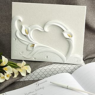 Calla Lily Design Guest Book. Great wedding favours, birthday gifts,baby shower presents, christmas stocking fillers and more