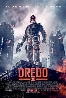 Dredd 3D Movie Mini poster 11inx17in Master Print