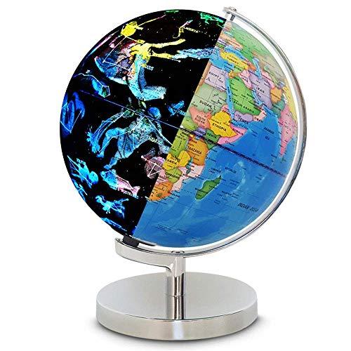 YUXIwang World Globe. Home Light Up Globus für Kinder & Erwachsene Interaktive Erdekugel Macht großartige Pädagogische Spielzeug, Bürobedarf, Lehrerschreibtisch-Dekor