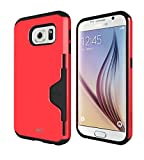 MTT® Tough Armor Shock Proof Case for Samsung Galaxy S6 (RED) quality galaxy s6 protective cases Jan, 2021