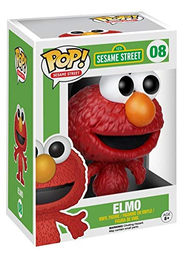 Funko Pop! Sesame Street #08 Elmo Vinyl Figure