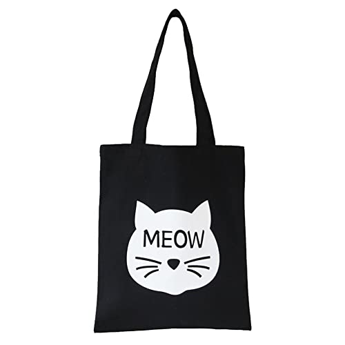 770e897e3e2e Cute Large Canvas Tote Bag: Amazon.com