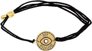 Alex and Ani Womens Seek Knowledge Pull Cord Bracelet
