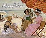 Strandleben - Kalender 2021 - Art-Format - Korsch-Verlag - Kunstkalender - 54,7 cm x 46 cm