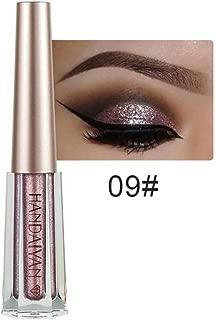 Beauty Eyeshadow Eyeliner- Shiny Metal Pearlescent Liquid Eyeshadow Glitter Waterproof Eyeliner-Shimmer 12 colors-Longevity Makeup For Beginners/Traveling/Giftable/Presentation