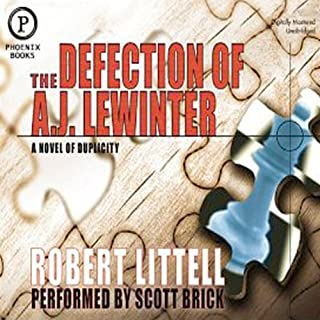 The Defection of A.J. Lewinter audiobook cover art