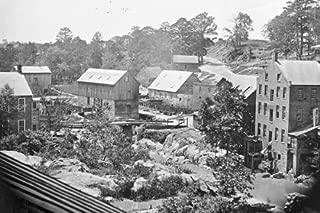 New 4x6 Civil War Photo: Mills on the Appomattox River near Campbell's Bridge
