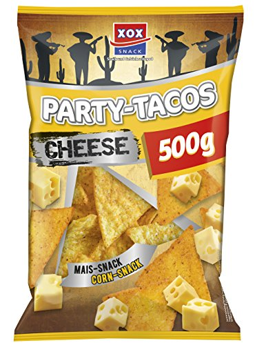 XOX Party Tacos Nacho Cheese (1 x 500 g)