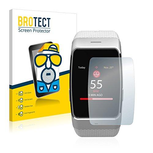 BROTECT 2X Entspiegelungs-Schutzfolie kompatibel mit MyKronoz ZeWatch 4 HR Bildschirmschutz-Folie Matt, Anti-Reflex, Anti-Fingerprint