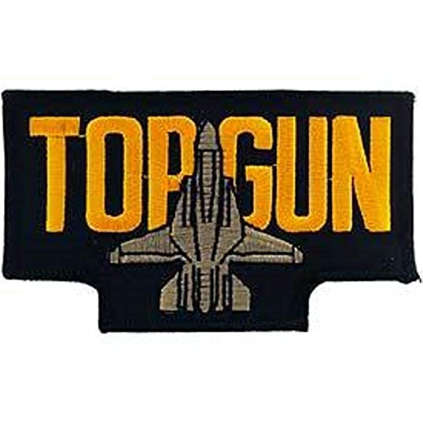 EagleEmblems PM0259 Patch-USN,Top Gun,W/Jet (4-3/8'')