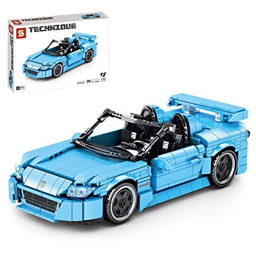 CYGG Modelo de automóviles Deportivos técnicos, 792 Piezas Convertibles en Bloque de automóviles Bloques de Bloques Tire detrás de Juguetes de automóviles compatibles con Lego TÉCNICO