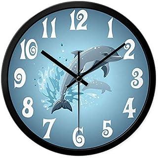 Orologio al Quarzo Colore : 30 * 81cm LONGLONGJINGXIAO Orologio da Parete Orologio da Soggiorno Muto Orologio da Parete a Forma di Gatto