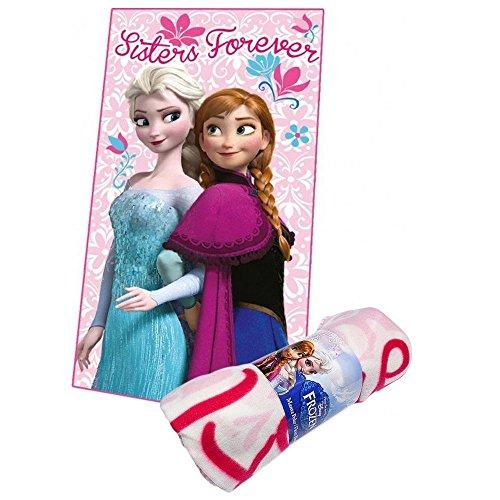 Plaid polaire La reine des Neiges couverture enfant Disney