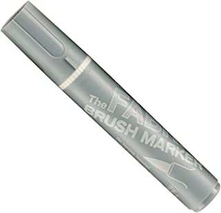 Uchida 722-C-37 Marvy Fabric Brush Point Marker, Gray