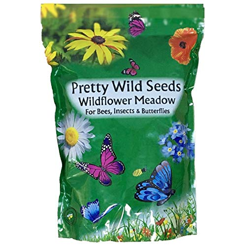 Photo of UK 100% Wild Flower Seed Mix Annual & Perennial Meadow Plants Attracts Bees & Butterfly (500g) Pure Wildflower Seeds Mix 3