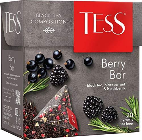 TESS Berry Black tea blackberry blackcurrant 2PACK