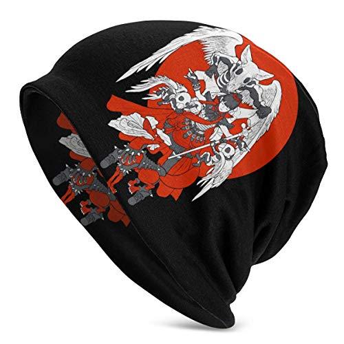Babymetal Fashion Gorros de Cobertura elásticos Sombrero de Punto Unisex Gorros con Estampado 3D Negro