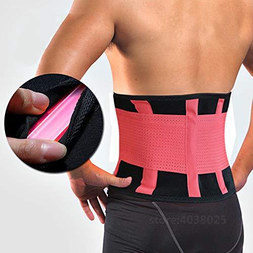 LLZGPZBD Comfortabele zelfverwarming bar instelbare mannen/vrouwen lichaamshouding corrector korset taille ondersteuning brace terug Lordosensteun riem