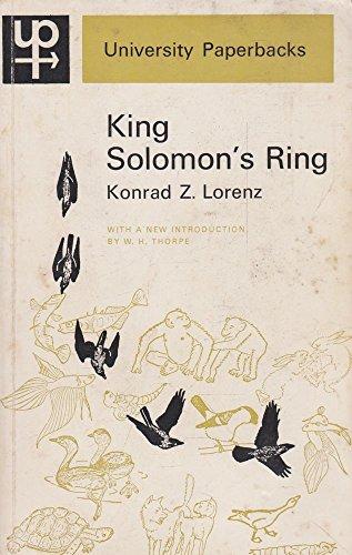 King Solomon's Ring (University Paperbacks)