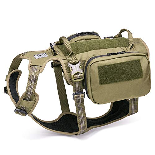 Chai's Choice Rover Scout Hiking Camping Backpack Harness (Army Green - Large)