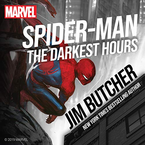 Spider-Man: The Darkest Hours audiobook cover art