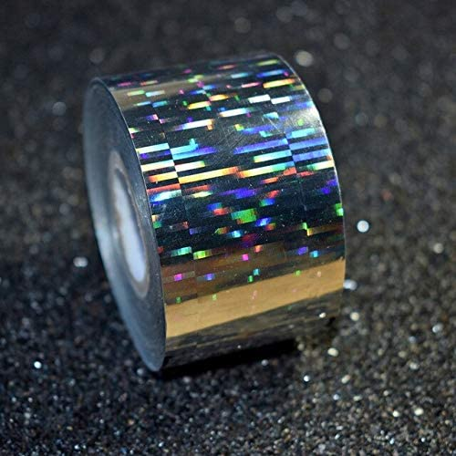 120M roll Holographic Transfer Foils store Japan's largest assortment Colorful Nail Rainbow foil