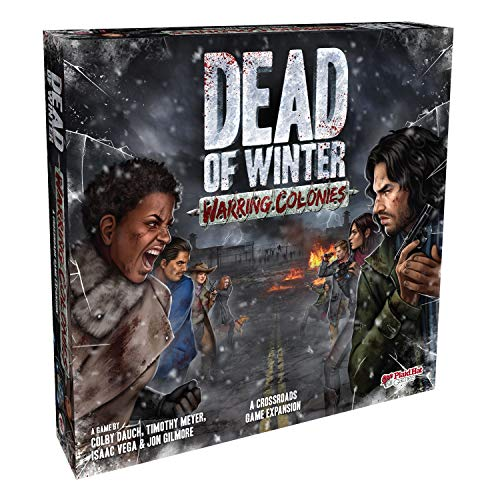 Plaid Hat Games PHG1002 Dead of Winter: Warring Colonies Expansion Zubehör, Mehrfarbig