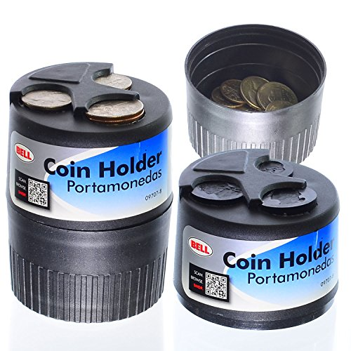 BELL Retrofit Coin Organizer/Lose Change Holder with Hidden Coin Dump Bowl, Fits in Drink Cup Holder
