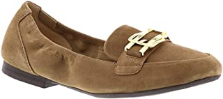 Easy Spirit Womens Cricket Closed Toe Loafers, Taupe, Size 8.5