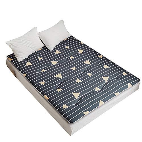 Tatami - Alfombrilla de dormir para el suelo de dormir, transpirable, para futón japonés Tatami, suave y gruesa, para colchón de dormitorio de estudiante LYFWMGOD/C/150 x 200 cm