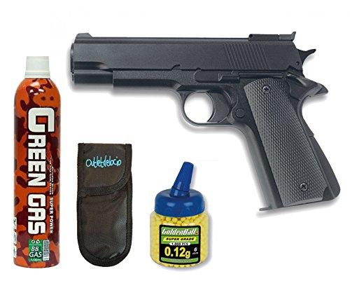 Pack Pistola airsoft HFC G16. Funcionamiento