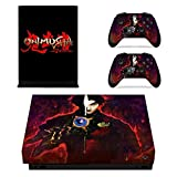 QUATLAMSHOP Xbox One X Console and 2 Controllers Skin Set - Adventure game – Xbox One X Vinyl (Only Xbox One X)