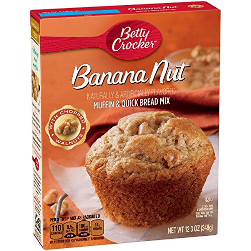 Uncle Wallys Rich & Moist Banana Nut Muffins