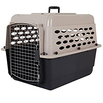 Petmate 21947 Vari 28-Inch Pets Kennel 25-30-Pound Bleached Linen