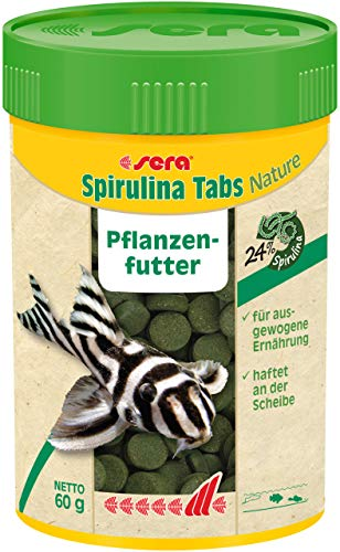 sera Spirulina Tabs Nature 2.1 oz 100 ml