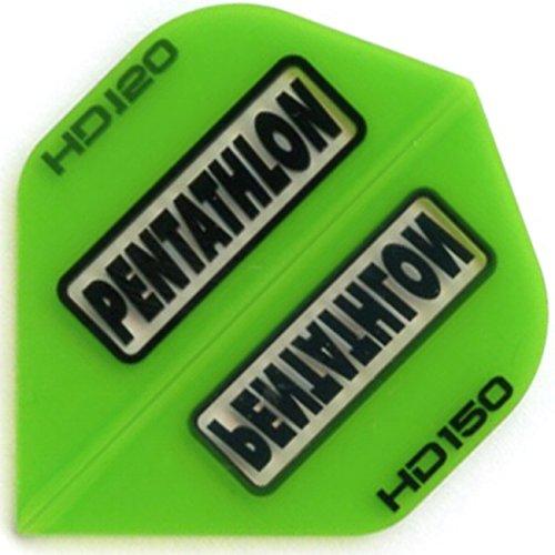 Pentathlon HD150 Flights, 5 Satz = 15 Stück (Grün)