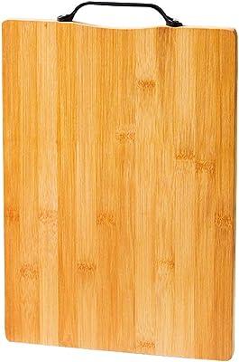 竹の裁断板キッチン、裁断板肉用パンフルーツ、肉屋ブロック、彫刻板17インチ