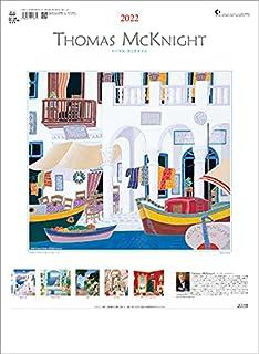 トーダン トーマス・マックナイト 2022年 カレンダー 壁掛け CL22-1084 白