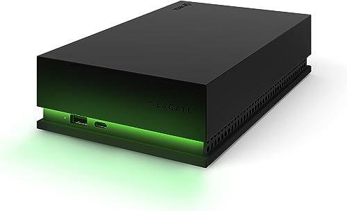 Seagate Game Drive Hub 8TO - Disque dur externe de bureau HDD - USB3.2 1regénération, deuxports USB-C et USB-A, c...