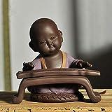 Escultura Esculturas Estatuas Adornos Estatuilla Figuras Coleccionables Nueva Cerámica Creativa Pequeñas Estatuas De Buda Esculturas Muebles Para El Hogar Venta Al Por Mayor Decoración De Buda