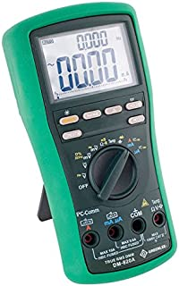 Greenlee Textron Inc DM-820A - Digital Multimeter - Digital Display, Probe Leads, Power Source: Battery