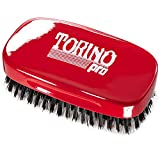 Torino Pro Hard 7 Row Palm Wave Brush By Brush King - #1900 - Hard 360 waves brush - Great for...