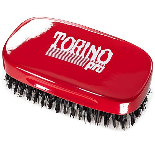 Torino Pro Hard 7 Row Palm Wave Brush By Brush King - #1900 - Hard 360...