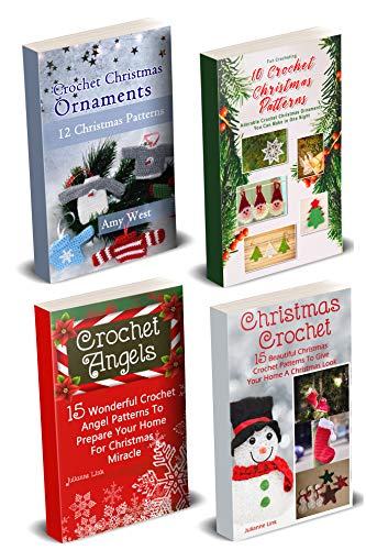Crochet Christmas Ornaments: 50 Crochet Christmas Patterns You Can Make In A Weekend