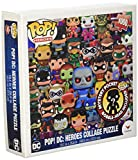 Funko Pop Heroes, DC Comics Pop Heroes Collage Jigsaw Puzzle - 1000 Pieces